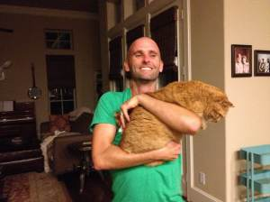 Doens't love the cat after crossfit