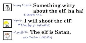 The Elf is Satan